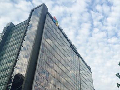 微软亚太研发集团总部大楼修建与我司达成建筑管道供需战略合作