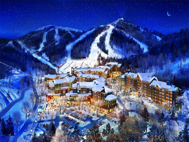 张家口滑雪场